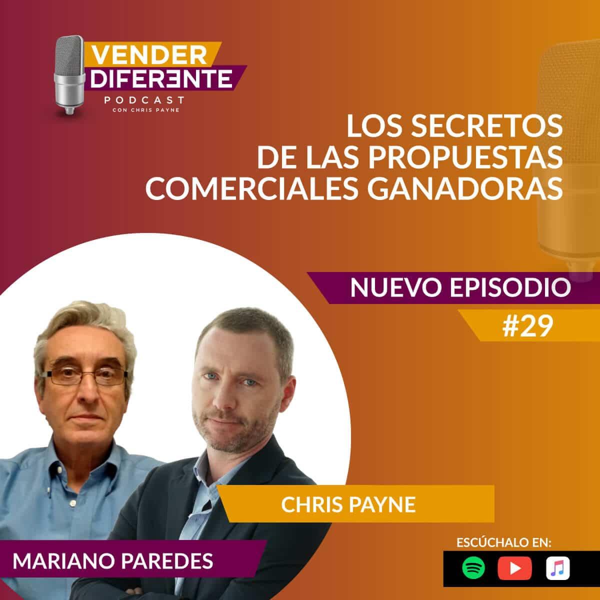 Episodio #029 – Los secretos de las propuestas comerciales ganadoras con Mariano Paredes